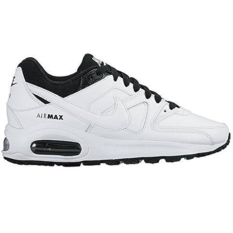 Nike Unisex-Kinder Air Max Command Flex Ltr Gs Sneaker, Weiß/Schwarz, 36 EU