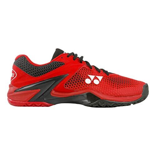 Yonex Men Eclipsion 2 Tennis Shoes all Court Shoe Red - Black 7