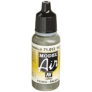 Vallejo Model Air Acrylfarbe, 17 ml Yellow Olive