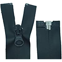 24 mm breit 50 Reißverschlüsse schwarz nahtfein 50 cm lang 0,42 EUR//Stück