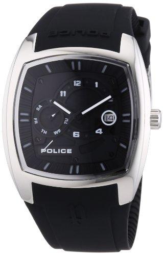 Police - P13547JS-02 - Montre Homme - Quartz Analogique - Bracelet Plastique Noir