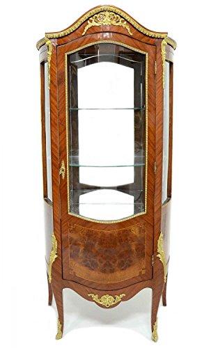 mousasgallery Vitrine – Style Antique   Baroque   Lauscha   Louis XV/XVI   Classique   fabriqué à la Main   Bois Massif