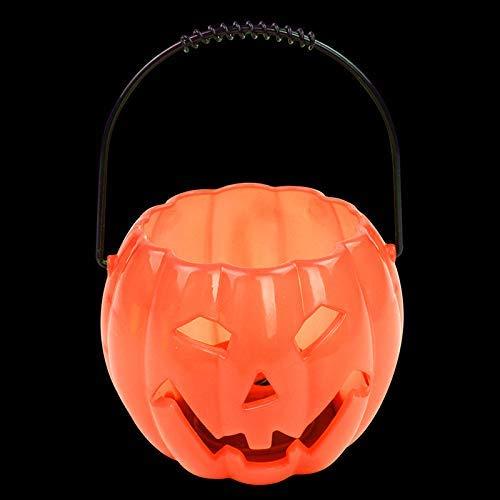 Metyere Halloween Tragbar Kürbis Schläger Laterne Kürbis Candy Zylinder Eimer Ton Effekte Kinder Geschenke - 3