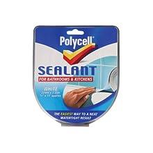 Polycell SSBKWH22 22mm Bathroom/ Kitchen Sealant Strip - White
