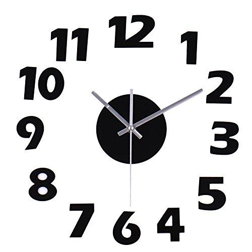 Orologio parete moderno adesivo orologio cucina Salon parete ...
