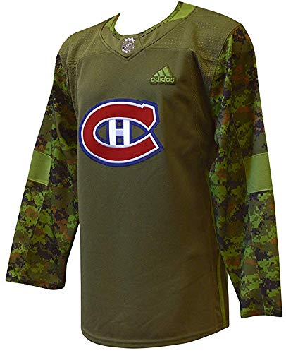 adidas Montreal Canadiens NHL Veterans Day Jersey (L/52)