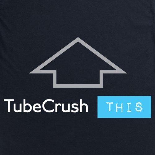 Tube Crush Up T-shirt, Uomo Nero