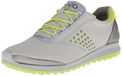 Ecco ECCO WOMEN'S GOLF BIOM HYBRID 2, Damen Golfschuhe, Weiß (CONCRETE01379), 39 EU