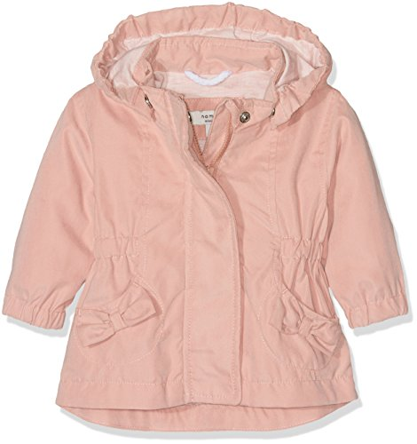 NAME IT Mädchen Jacke Nitmadaline Jacket Mznb Ger Rosa (Rose Tan), 68 (Kinder Jacke Tan)