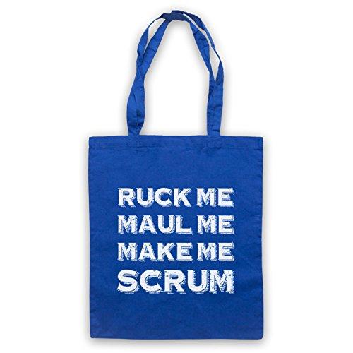 Ruck Me Maul Me Make Me mischia Rugby borsa custodia Blu