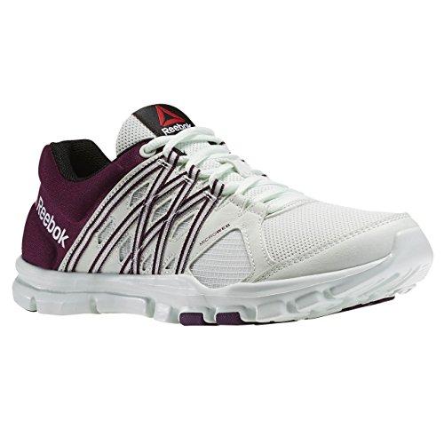 Treinamento Multicoloridas 8 Trai De Transversal Reebok Fitness 0 Agradável Flex Esportes Sapatos Corrida Senhoras Seu 07n6nY