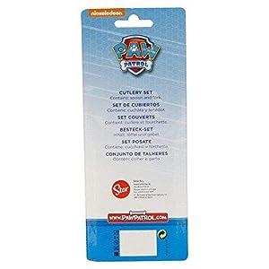 Canina-30817 Paw Patrol La Patrulla Canina - Set 2 cubiertos de plastico para bebe (Stor 30817) (