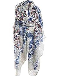 c848bb0ccd8 Amazon.fr   foulard tete de mort - Accessoires   Femme   Vêtements