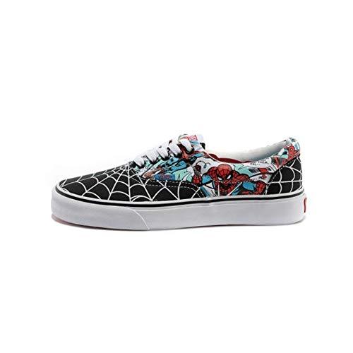 Vans Herrenschuhe X Marvel Spiderman Sneakers aus schwarzem Stoff VN-0-TN99H7
