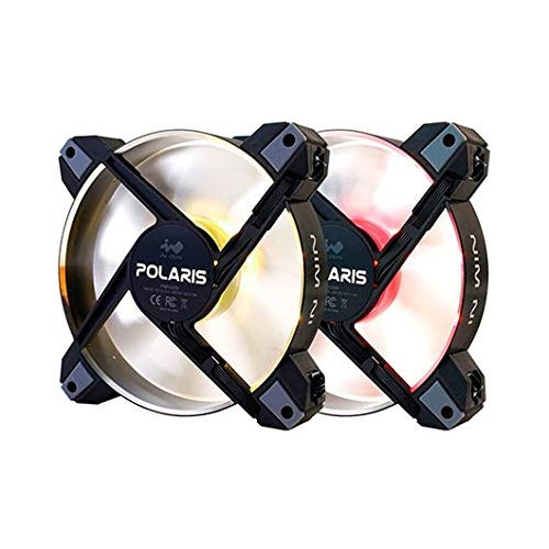 In Win Polaris RGB Metal (Twin Pack) Ventilador para PC