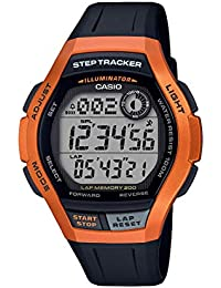 ab4ad176dbcb CASIO Reloj Digital para Hombre de Cuarzo con Correa en Resina  WS-2000H-4AVEF