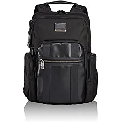 "Tumi Alpha Bravo - Nellis Laptop Backpack 15"" Mochila Tipo Casual, 40 cm, 22.28 Liters, Negro (Black)"