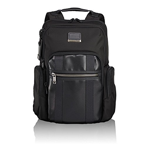 "Tumi Alpha Bravo - Nellis Laptop Backpack 15"" Zaino Casual, 40 cm, 22.28 liters, Nero (Black)"