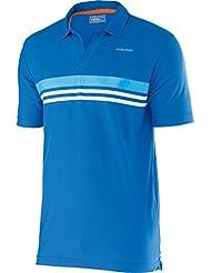Head Adam Polo Shirt Herren kurzarm Sport Poloshirt 811335-BLTQ blue/turquise
