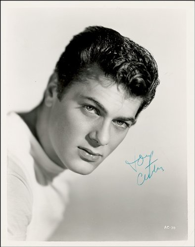 TONY CURTIS SIGNED PHOTO PRINT DIMENSIONI 30,48 X 20,32 (12