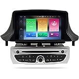 Etong - Reproductor de Radio para Coche Android 8.0 de 7 Pulgadas, navegación GPS con Soporte de DVD, cámara Trasera OBD Bluetooth 3G WiFi DVR con Enlace de ...