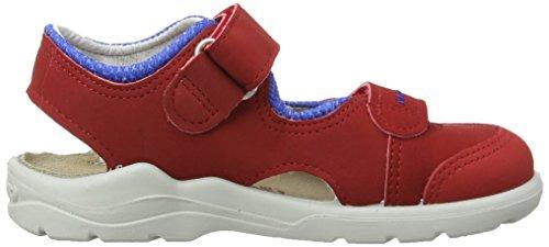 Ricosta Dobby M 61, Sandales Garçon Rouge (Rot/Royal)