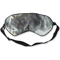 Sleep Eye Mask Wolf Snow Lightweight Soft Blindfold Adjustable Head Strap Eyeshade Travel Eyepatch preisvergleich bei billige-tabletten.eu