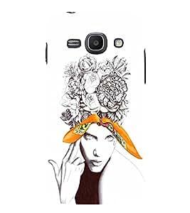 EPICCASE Flower & Tear Mobile Back Case Cover For Samsung Galaxy Ace 3 (Designer Case)