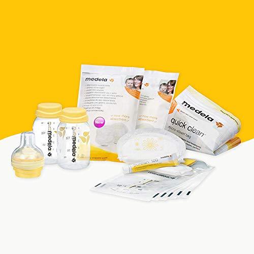 Kit inicial recién nacido Medela complementos lactancia