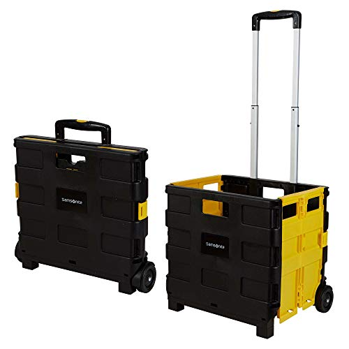 Inspired Living by Mesa Rolling Utility Carts Rolling Utility Cart Large gelb