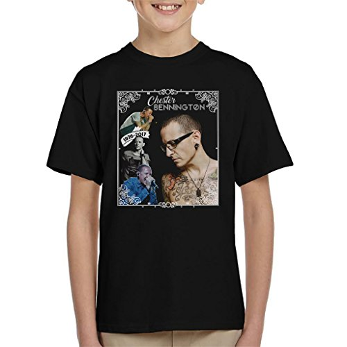 Chester Bennington 1976 2017 Tribute Kid's T-Shirt