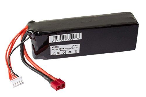 rc-lipo-batteria-148v-4000mah-li-polimero-per-auto-da-corsa-elicotteri-diversi-aerei-e-modellini-di-