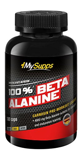 My Supps 100% Beta Alanine 1er Pack (1 x 180 Kapseln)