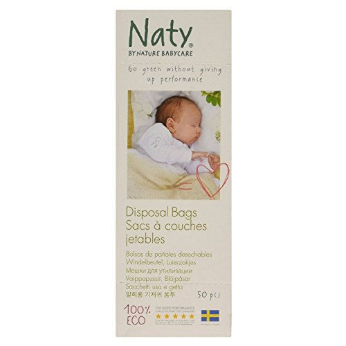 Naty by Nature Babycare Eco Nappy Bags 50s (Pack of 6)