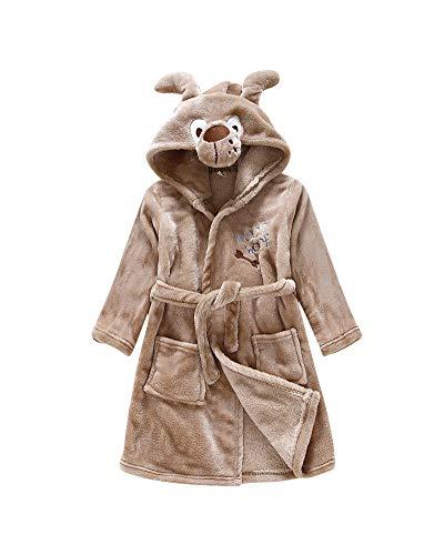 Kostüm Flanelle - Kinder Winter Flanell Bademantel Tier Kostüme Morgenmantel Mit Kapuze Für Mädchen Und Jungen 3 130