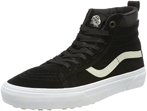 4a592f58bb065 Vans Sk8-hi, Zapatillas Unisex Adulto, Negro (MTE/Black/Night), 42 EU