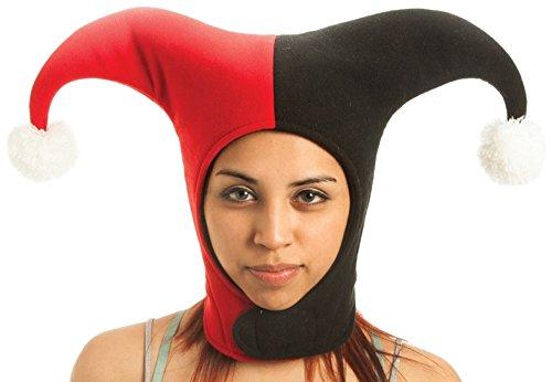 batman-de-dc-comics-harley-quinn-sombrero-negro-rojo