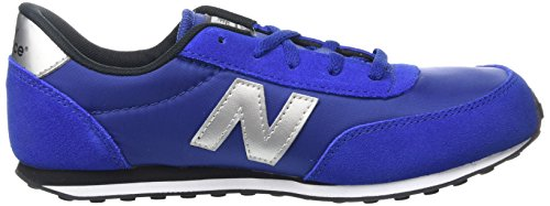 New Balance Jungen, Funktionsschuh, Kl410 Kids Lifestyle Cordón Blau (Blue/White)