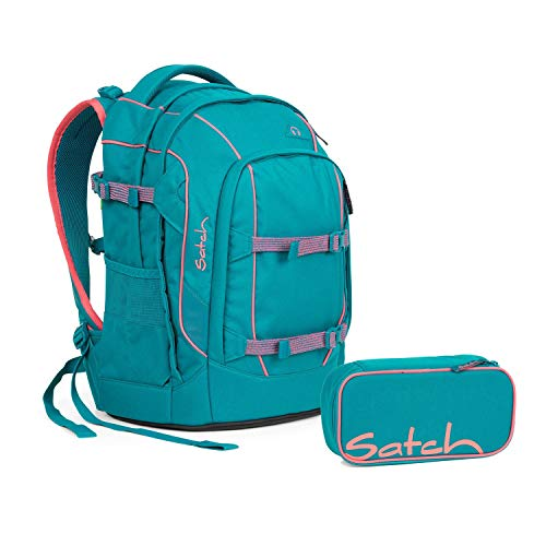 Satch Schulrucksack 2tlg. Set (mit SchlamperBox) (Pack Ready Steady)