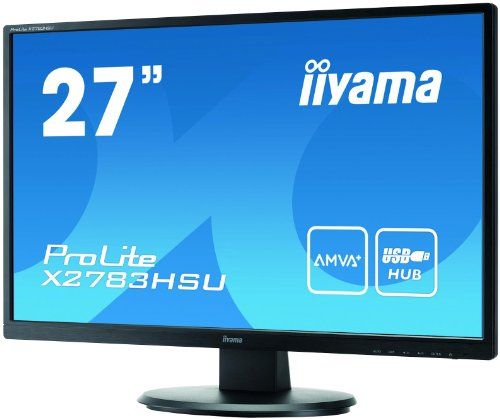 iiyama X2783HSU-B1 27-Inch LCD/LED Monitor - Black