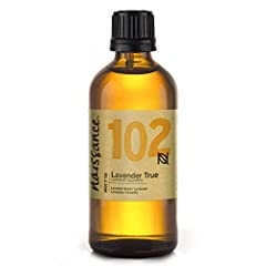 Idea Regalo - Naissance Olio di Lavanda - Olio Essenziale Puro al 100% - 100ml