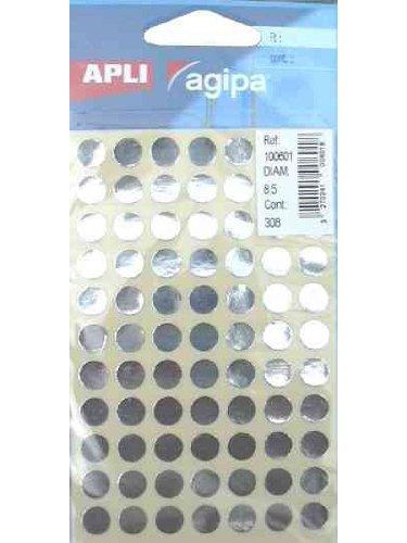 agipa-markierungspunkte-rund-selbstklebend-silber-ve1