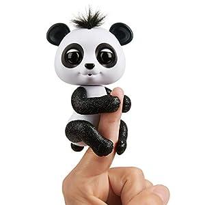 Wow Wee- Drew Fingerlings Baby Panda, Color Blanco/Negro (WowWee 3564)