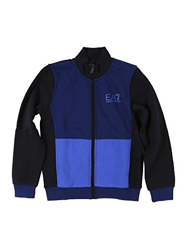 Ea7 emporio armani junior 6XBM52 BJ07Z Sweatshirt Kind Blue 6a - Junior Armani