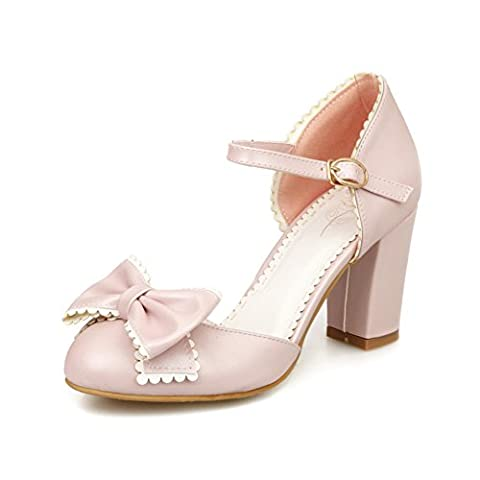 Adee , Sandales pour femme - Rose - rose, 36 2/3