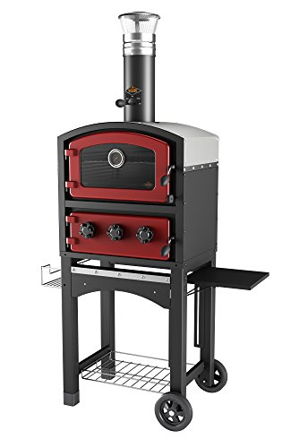 Fornetto GLPZ5EUR Wood Fired Oven - Red (Pack of 2)