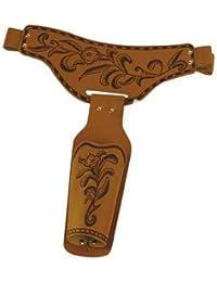 Cowboygürtel für Erwachsene, braun, 115 cm lang