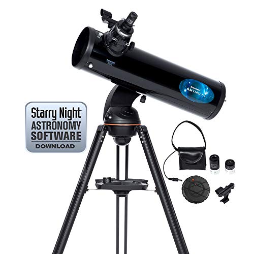 Celestron Astro Fi - Telescopio astronómico (130 mm de Apertura, 650 mm de Distancia Focal, f/5 de relación Focal) Color Negro