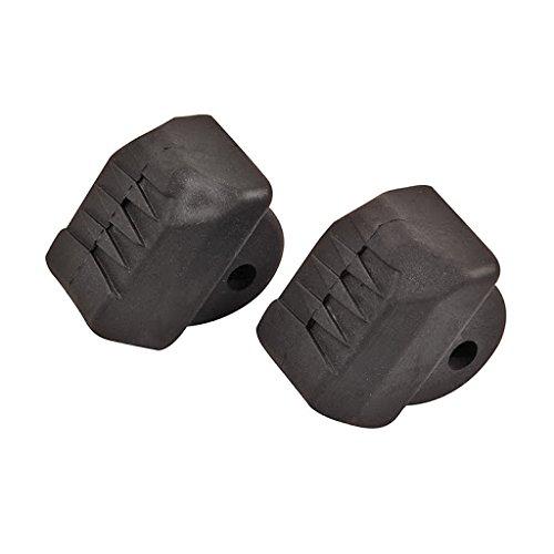 2 Stück Stopper - schwarz für Inlineskates