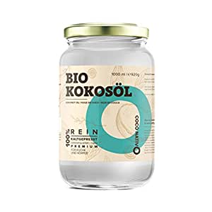 bio kokos l coconativo 1000ml 1l bio kokosfett kokosnuss l premium nativ kaltgepresst. Black Bedroom Furniture Sets. Home Design Ideas